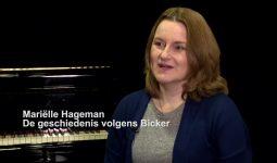 Mariëlle Hageman: 'De geschiedenis volgens Bicker'